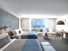 Occupying an entire city block on Collins Avenue, 1 Hotel South Beach sits directly on 600 feet of pristine beachfront. 1 Hotel South Beach offers unparalleled views of the Atlantic ocean, Miami's natural paradise, Biscayne Bay and...