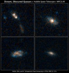 Most Quasars Live on Snacks, Not Large Meals (06/19/2012)