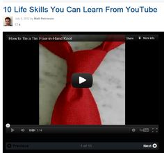 10 Life Skills You Can Learn From YouTube