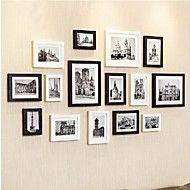 Black+White+Photo+Frame+Collection+Set+of+15+–+USD+$+97.99