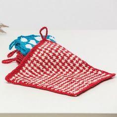Premier Yarns Home Cotton Winter Speckle Washcloth