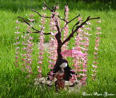 Origami crane bonsai and doll by cridiana.deviantart.com on @DeviantArt
