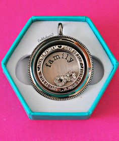 Love is patient window from from Origami Owl! So many different ways to wear this! #origamiowl www.tangledinlockets.origamiowl.com
