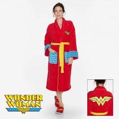 Peignoir Wonder Woman sur Rapid-Cadeau