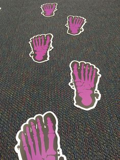 It's Wise to Specialize: Innovative Graphics Floor Graphics, Cotton Bowl, Path Design, Floor Stickers, Digital Printer, Sticker Ideas, Up Halloween, Big Picture, Star Print