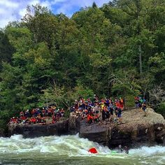 Who is ready for Gauley Fest?  @sarahblessington #whitewater #kayaking #rafting #gauleyfest