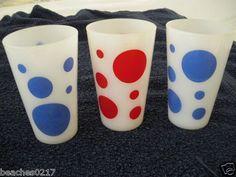 RETRO 60s SPOT GLASSES