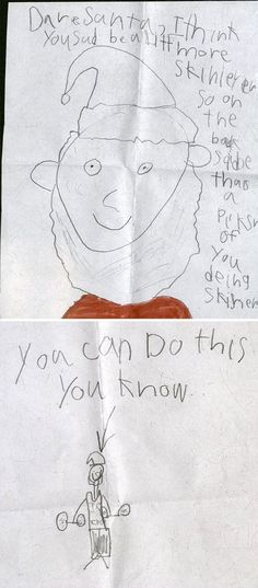 Kids Totally Nailed Their Letter To Santa – 100 Pictures