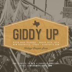 more @ http://www.dwrenched.com/2016/04/event-giddy-up-show.html