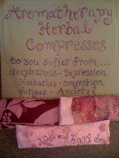 Aromatherapy Herbal Compress / Flax Seed Eye by GreenCraftStudio, $16.00