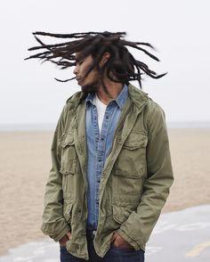Skip Marley Skip Marley, Bob Marley, Marley Family, Lion Family, Rain Jacket, Bomber Jacket, The Wailers, Hip Hop And R&b, Dreads