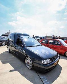 VW caddy MK2 on cult classic BBS RF wheels
