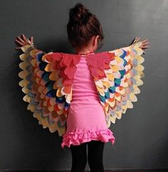 Create a home made costume wing of freedom.