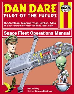 EAGLE-TIMES: Dan Dare: Space Fleet Operations Manual (Review) | Cover
