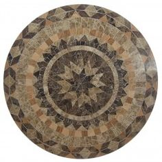 Moroccan 120cm Round Marble Stone Table
