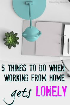 One of the biggest cons to working from home is that working from home gets lonely. Check out our sweet list of things to do to fight that loneliness.