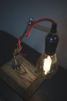 "Table lamp by ""PRIDE&JOY"" #loft #gift #handmadeisbetter #tablelamp #prideandjoyworkshop #present #handmade #giftforman #design #homedesign #BuyDifferently #calledtobecreative #favehandmade #craftsposure #handcrafted #etsy #handmadegifts #homeinthestudio #madebyhand #makersmovement #handmadeseller #thenativecreative #gift #handmadeua #handmadeukraine #lamp #etsy #лампа #настольнаялампа #подарок #edison #edisonlamp"