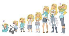 Bridgette's Timeline by kikaigaku.deviantart.com on @deviantART