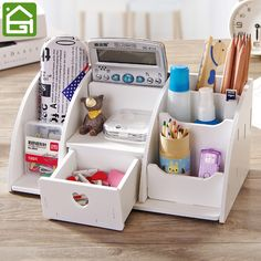 Large Desk Organizer Remote Control Holder //Price: $19.97 & FREE Shipping //     #curtains #party #home #frame #garden