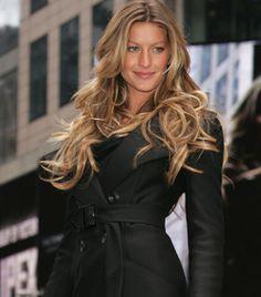 cuidar de cabelos compridos, né Gisele? tão lindos!