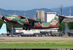 Japan Air Self-Defense Force (JASDF): Kawasaki C-1