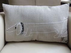 Dachshund pillow :@