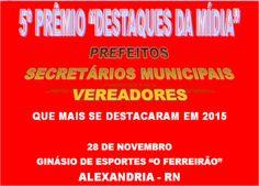 RN POLITICA EM DIA: SECRETÁRIOS MUNICIPAIS, VEREADORES E PREFEITOS DE ...