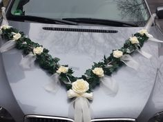 Wedding Decoration for Bride Car car ornaments car Garland - Hochzeit - Autoschmuck -