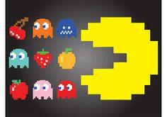 Resultado de imagem para pacman personagens