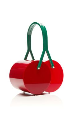 WANT WANT WANT! If only this weren't $1595. Cherry On Top Satchel by Charlotte Olympia for Preorder on Moda Operandi