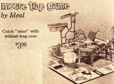 Popular Vintage 1960s Toys including Photos and Prices...Game Of Mousetrap