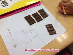 Workshop Wednesday: Edible Math-Fractions & Hershey's from Head Over Heels for Teaching