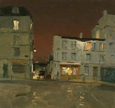 Evening on Monmartre, Bato Dugarzhapov