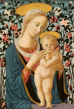 Madonna and Child c. 1470 Follower of Fra Filippo Lippi and Pesellino