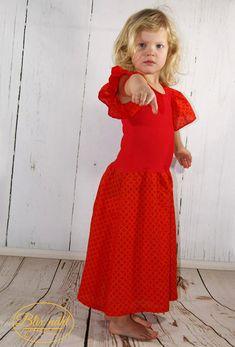 Das Flamenco-Kleid in alltagstauglich! - Erbsenprinzessin Blog High Neck Dress, Summer Dresses, Blog, Vintage, Style, Fashion, Flamenco Dresses, Sewing For Kids, Princess
