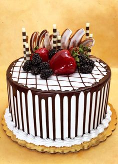 Get Delicious Special Occasion Cakes & Pastries in Glendale at Arts Bakery Cake Decorating Frosting, Cake Decorating Designs, Creative Cake Decorating, Creative Cakes, Creative Food, Gourmet Cakes, Food Cakes, Cupcake Cakes, Cupcakes