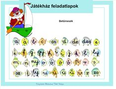Betűtanítás 1. osztályban a Játékház feladatlap segítségével interaktív tananyag - Google Fotók Album, Google, Shopping, Speech Language Therapy, School, Card Book