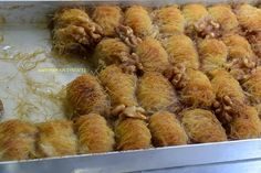 Κανταΐφάκια πανεύκολα & γρήγορα !!! ~ ΜΑΓΕΙΡΙΚΗ ΚΑΙ ΣΥΝΤΑΓΕΣ Cyprus Food, Almond, Sweet Tooth, Pork, Chicken, Meat, Pork Roulade, Pigs, Almonds