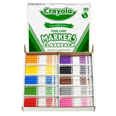 Classpack 300 Sufficient Supply Plastic Crayons Study Time