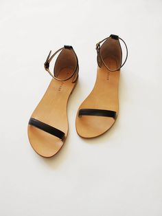 Sandals from Apiece Apart //ephemere