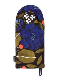 Marimekko Unikko Red  Plum Oven Mitt  Marimekko Kitchen Delectable Kitchen Mittens Design Decoration