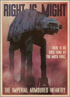 Star Wars propaganda posters by Russell Walks