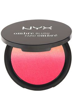 28 New Drugstore Products We're Totally Obsessed With #refinery29  http://www.refinery29.com/new-drugstore-makeup-products#slide-10  Nyx has always killed it when it comes to blushes, and the brand's latest offering is no exception. This ombré blush comes in eight shades that are pigmented but easy to blend. Nyx Ombré Blush in Insta Flame, $10, available in February at Nyx....