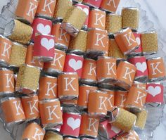 #DIY #weddingfavors #wedding( only repinning this because mine and my bough's names start with K;)