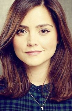 Jenna Louise Coleman. Oh Clara. Next to Amy you are by far the prettiest companion. ^_^