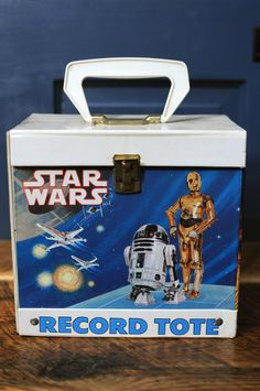 Vintage Star Wars Record Tote