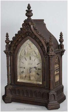 Muebles Antiguos Y Decoración Arte Y Antigüedades Elliott Londres Triple Fusee 8 Día Westminster Chimes Caoba Soporte Reloj