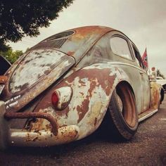 Slammed Vw beetle Oval More