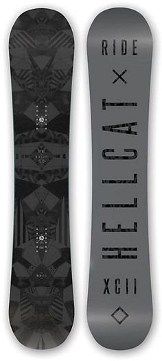 Ride Hellcat Snowboard - Women's Snowboards - Women's Snowboarding - Winter 2015/2016 - Christy Sports