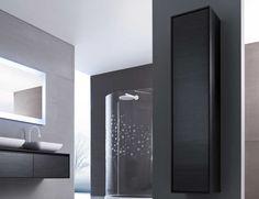 bathroom cabinets grey pinterdor Pinterest Tall bathroom